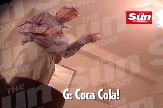 Baron John Sewel filmed snorting coke