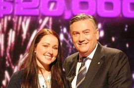 Bri Dredge, Aussie game show winner to use $20K winnings on students shoes