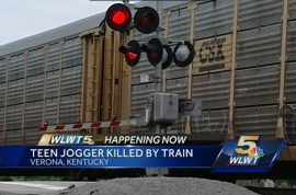 Death wish? Elijah Wagers, Kentucky teen killed by train whilst jogging on train tracks with headphones
