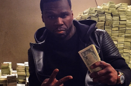 50 Cent bankrupt: 'Sorry I'm broke bitches, can't pay you.'