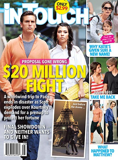 Kourtney Kardashian dumps Scott Disick