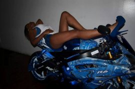Latisha Larrymore photos: Brooklyn motorcyclist loses leg in crash: 'I love showing off'