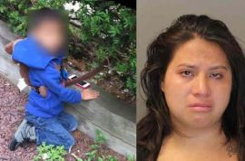 Rockland mom arrested for tethering 4 year old son on dog leash.