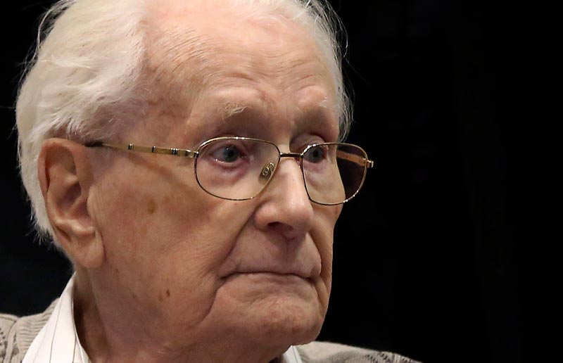 Bookkeeper of Auschwitz sentenced
