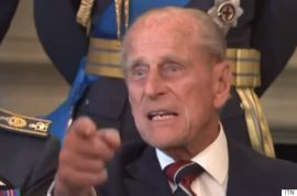 Out of line? Prince Philip tells off photographer: 'Just take the fxcking picture'