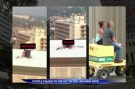 US Marshals employee caught having regular sex on Pennsylvania courthouse roof