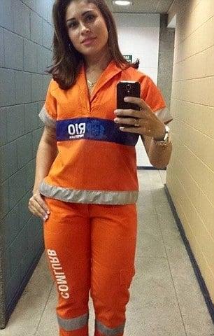 Rita Mattos Rio street cleaner