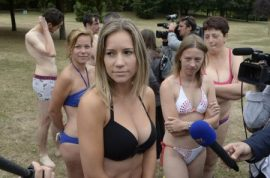 French woman attacked by Muslim girl gang for wearing bikini