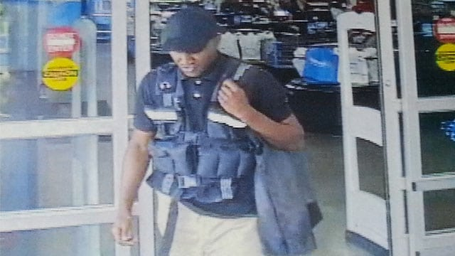 armored truck driver steals $75K from Walmart