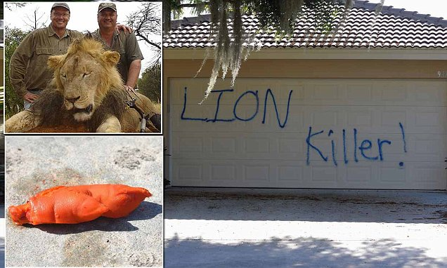 Walter Palmer's Florida vacation home vandalized