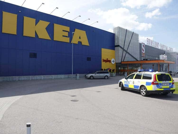 Stockholm Ikea store stabbing