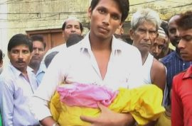 Geeta Devi: Indian mother and baby die after head torn off during birth