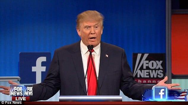 Donald Trump Presidential debate
