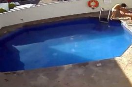Watch: Mexican stepfather throws 3 year old daughter in pool to drown