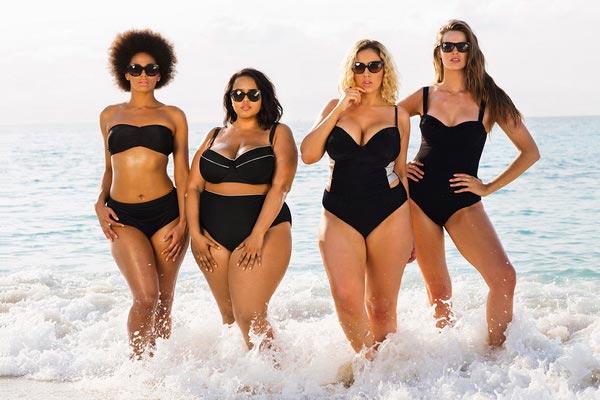 plus size babes shop online edgy bathing suits