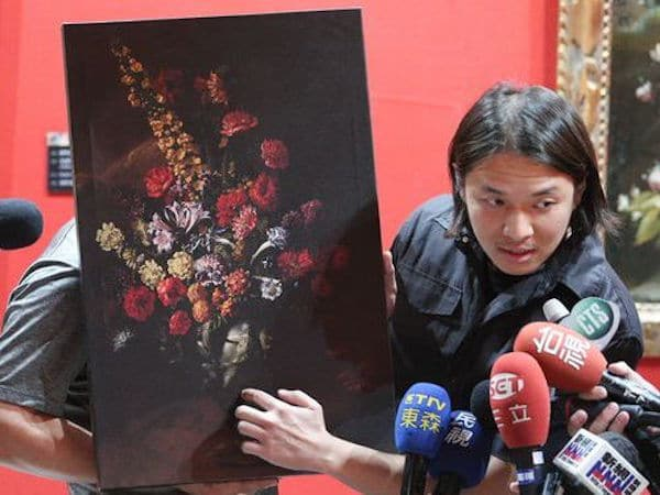 Taiwanese boy trips and punches hole in $1.5m Paolo Porpora painting