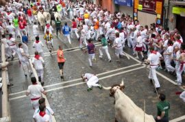 Video: Spanish man gored to death by bull caught on his cell phone