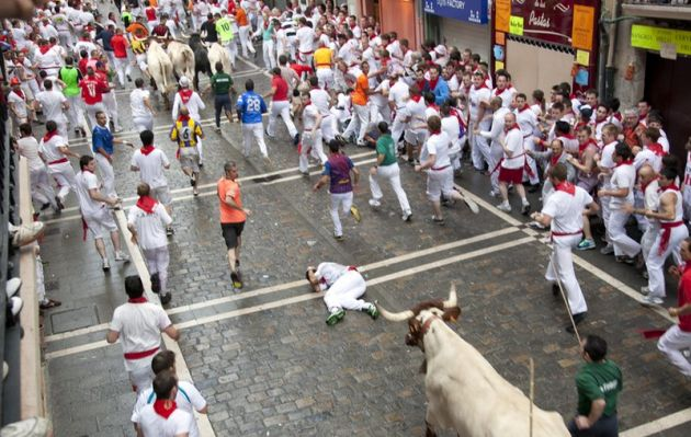 Spanish man gored to death by bull caught on his cell phone