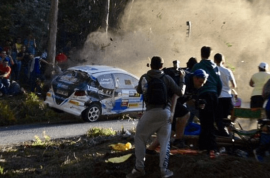Watch: La Coruna Spain car rally crash kills six, death toll expected to rise