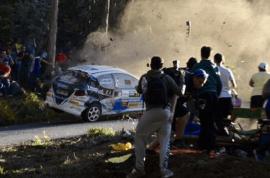 Watch: La Coruna Spain car rally crash kills six, death toll expected to rise