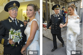 Ivan Krasko 84 year old Russian actor marries 24 year old former student