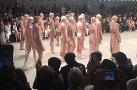 Kanye West NYFW Yeezy 2 collection photos: 'It's like being homeless again'
