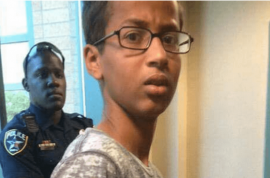 Ahmed Mohamed clock teacher: 'He has a future in crime'