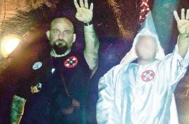 Right decision? Raymond Mott, Louisiana cop fired after KKK Nazi salute photo
