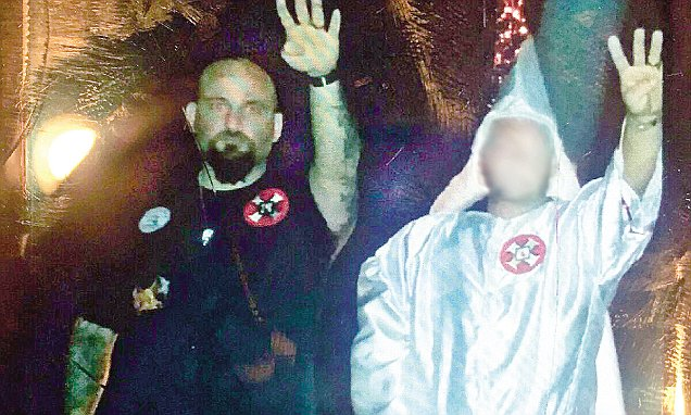 Raymond Mott, Louisiana cop fired after KKK Nazi salute photo