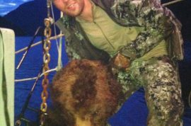 Photos: Clayton Stoner, NHL player busted posing with dead bear's head