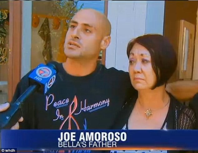 Joseph Amoroso, Baby Bella father