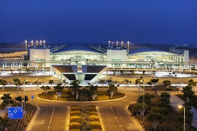 German mother and daughter live at Larnaca Cyrus airport