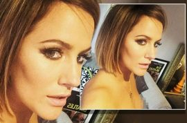 NSFW: Caroline Flack topless nipple instagram faux pas causes internet meltdown