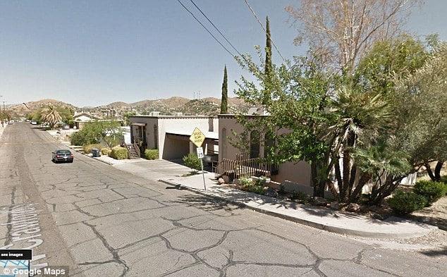 26 pound marijuana bundle falls from sky onto Arizona family home