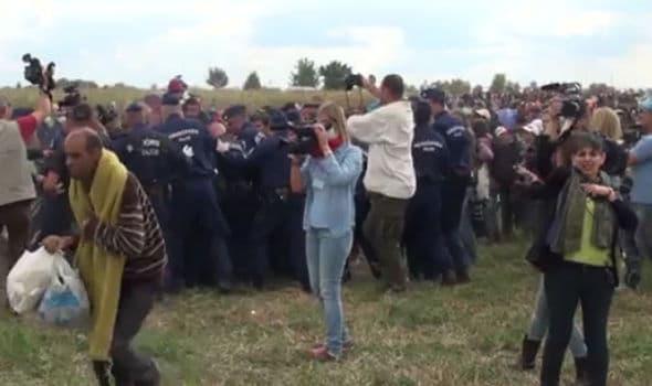 Petra Laszlo Hungarian camerawoman apology