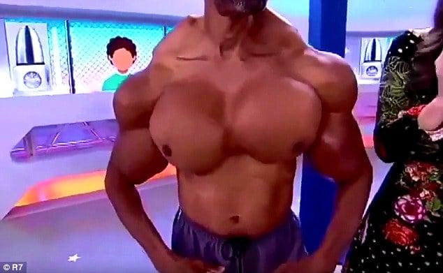Larysa Switlyk Bodybuilding