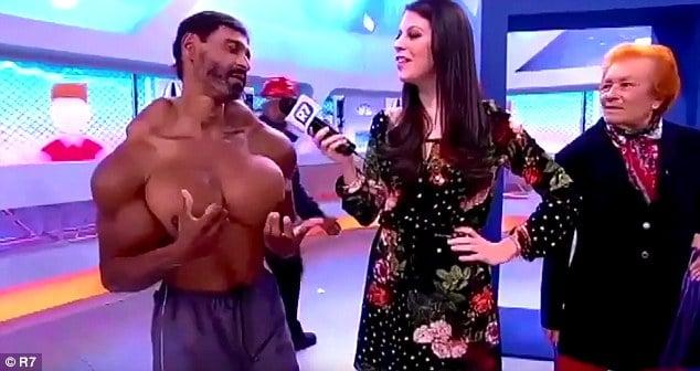 Portuguese bodybuilder Valdir