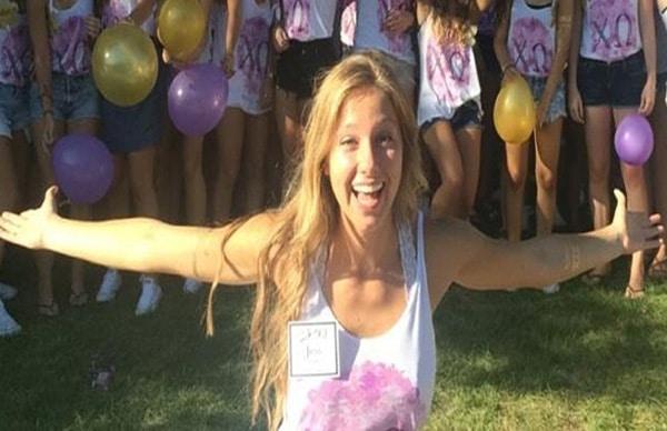 Jestine Rands Drunk University of Iowa student