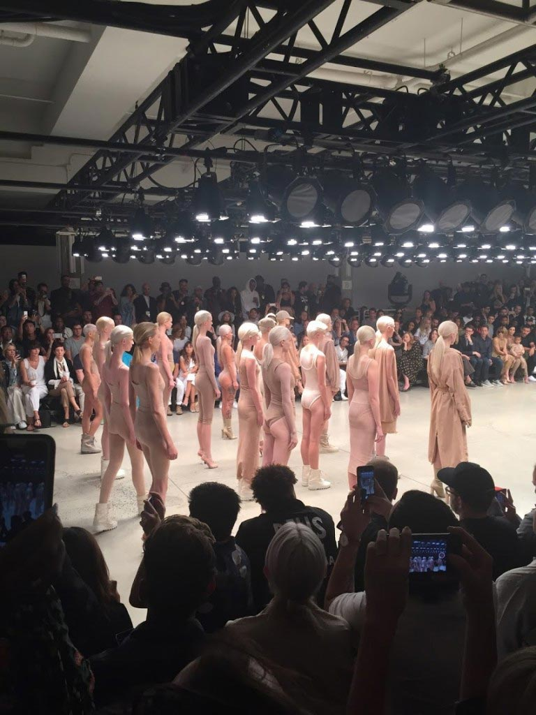 Kanye West NYFW Yeezy 2 collection