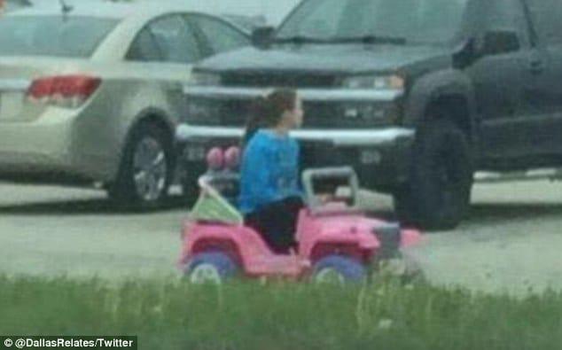 DWI Barbie Jeep Girl, Tara Monroe