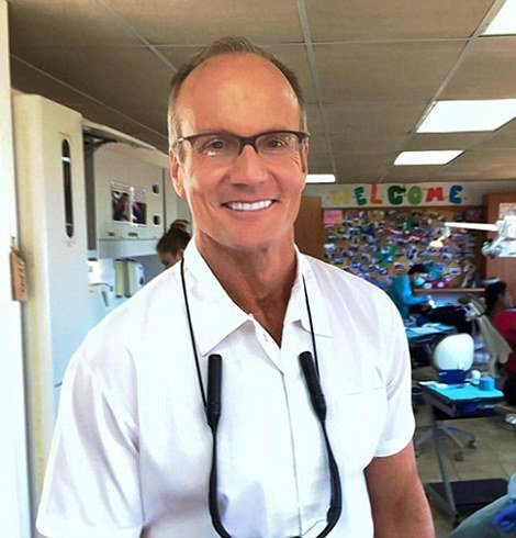 Walter Palmer returns to work
