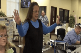 Right decision? Kentucky clerk Kim Davis jailed for refusing to give gay marriage licenses