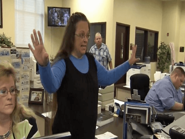 Kentucky clerk Kim Davis jailed