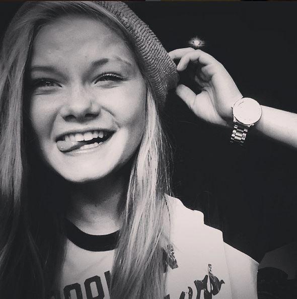 Lisa Borch, Danish teen