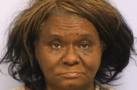 Ethel Jean Banks threatened brother with butcher knife for eating her bbq ribs