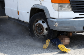 Israeli motorist killed by Palestinian truck after clubbing cars