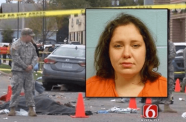Adacia Chambers intentionally crashed into victims cause she's mentally ill