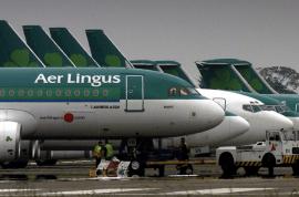 Crazed Aer Lingus Passenger bites passenger then dies. Drugs arrest made