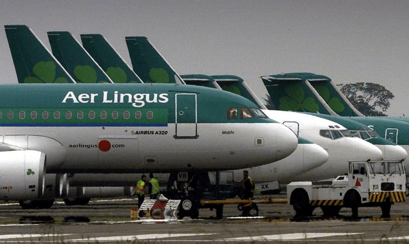 Aer Lingus Passenger bites passenger then dies