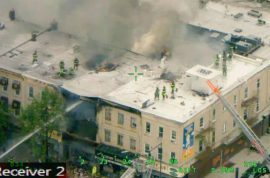 Borough Park Brooklyn gas explosion kills new tenant, injures eight.